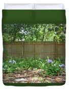 Hydrangea Bushes Duvet Cover