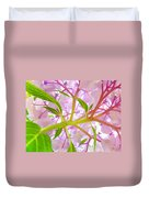 Hydrangea Flower Inside Floral Art Prints Baslee Troutman Duvet Cover