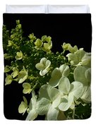 Hydrangea Formal Study Landscape Duvet Cover