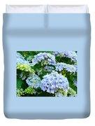 Hydrangea Garden Landscape Flower Art Prints Baslee Troutman Duvet Cover