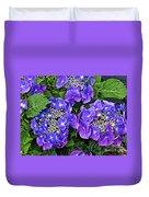 Hydrangea, Macrophylla Teller Duvet Cover