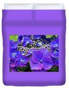 Hydrangea Plant Duvet Cover