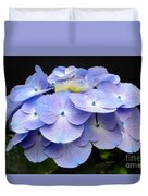 Hydrangeas In Purple Duvet Cover
