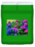 Hydrangeas Duvet Cover