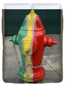 Hydrant With A Facelift Duvet Cover