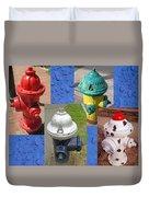 Hydrants 2 Duvet Cover