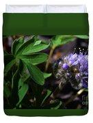 Hydrophyllum Capitatum Duvet Cover