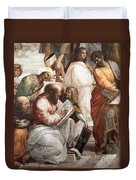 Hypatia Of Alexandria, Mathematician Duvet Cover by Science Source