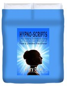 Hypno-scripts Duvet Cover