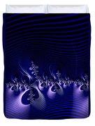 Hypnotique Blue Duvet Cover