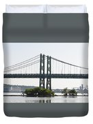 I-74 Bridge Duvet Cover