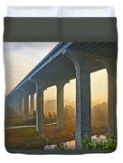 I-80 In Cuyahoga Valley National Park Duvet Cover