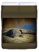 I Am Gator, No. 60 Duvet Cover