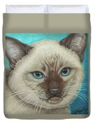 I Am Siamese If You Please Duvet Cover