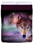I Am Wolf Duvet Cover