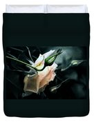 I Am Your Ghost Of A Rose Duvet Cover