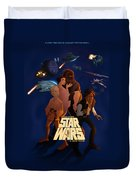 I Grew Up With Starwars Duvet Cover