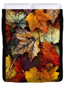 I Love Fall 2 Duvet Cover by Joanne Coyle