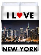 I Love New York Duvet Cover
