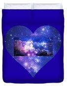 I Love The Night Sky Duvet Cover