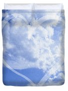I Love You To The Clouds And Back Duvet Cover