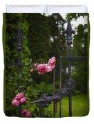 I Never Promised You A Rose Garden Duvet Cover