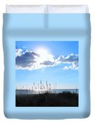 I Sat And Watched The Sun Go Down Duvet Cover