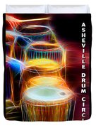 I Sing The Drums Electric Duvet Cover