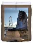 I Sphinx It Is The London Eye Duvet Cover