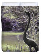 I Stand Tall Duvet Cover