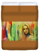 I Think About You_x Duvet Cover