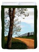 I Walk The Gravel Road Duvet Cover