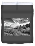 I Will Give You Rest Duvet Cover