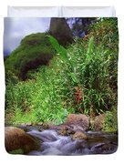 Maui Hawaii Iao Valley State Park Duvet Cover