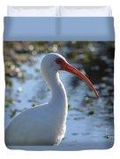 Ibis Blanco Duvet Cover