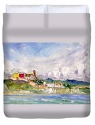 Ibiza Panoramic 02 Duvet Cover