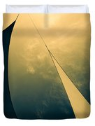 Icarus Journey To The Sun Duvet Cover