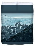 Ice And Rock Duvet Cover