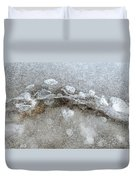 Ice And The Beach Four  Duvet Cover
