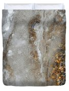 Ice And The Beach Two  Duvet Cover