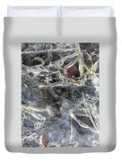 Ice Art I Duvet Cover