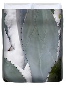 Ice Blue Agave Duvet Cover