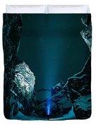 Ice Breaker Star Gazer Duvet Cover
