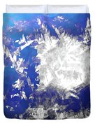Ice Burst Duvet Cover