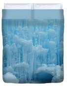 Ice Castles In Lincoln New Hampshire -2 Duvet Cover