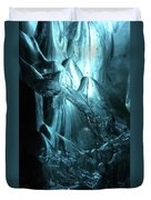 Iceland - Glacier Ice Caves #4 Duvet Cover