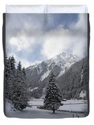 Ice Cold But Beautiul Duvet Cover