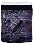 Ice-cold Gothic Night Duvet Cover