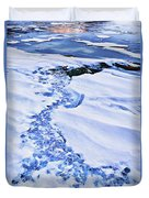 Ice Cube Creek Duvet Cover