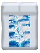 Ice Cubes Duvet Cover by Carlos Caetano